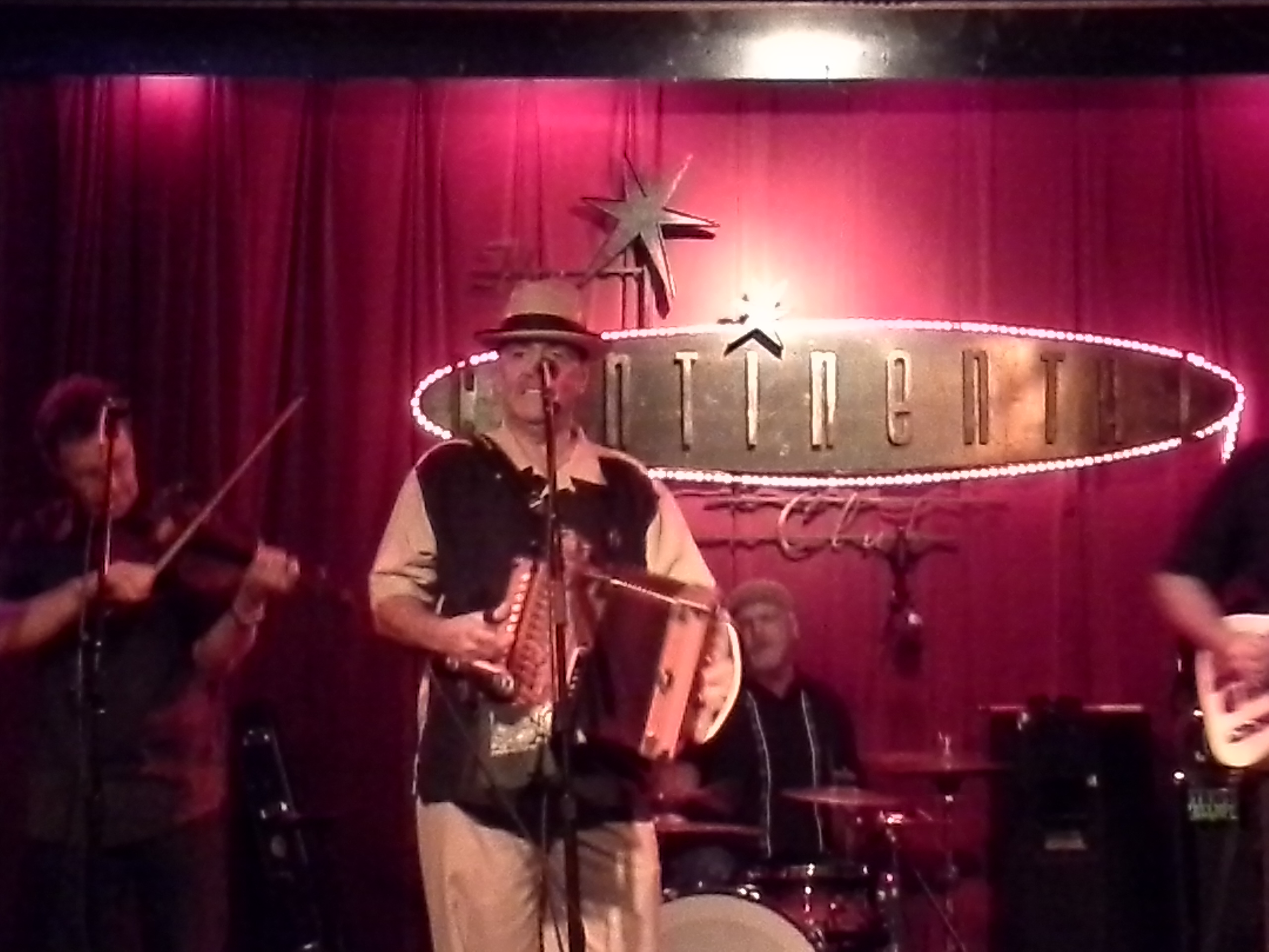 The Austin Cajun Aces at Continental Club Austin
